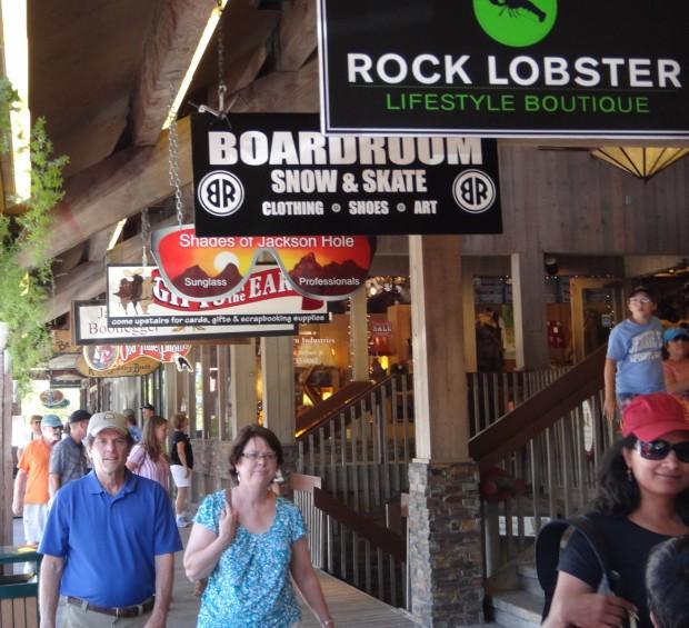 Shops Of Saddle Creek >> Jackson Hole shopping - The Hole Conceirge