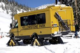 snowcoach yellowstone national park