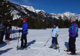 snowshoe tour jackson hole
