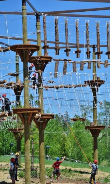 teton village ropes course